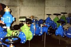 réservoirs - traitement - pompages